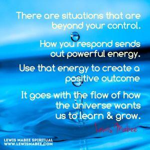 Responding to Energy