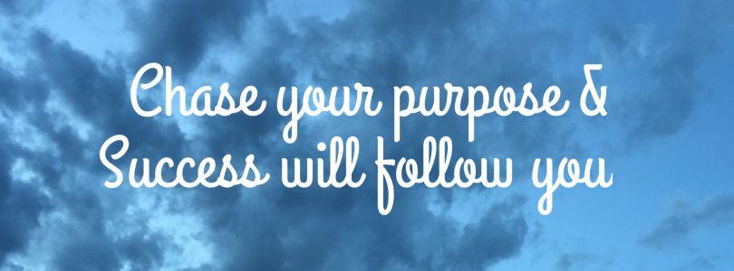 Purpose banner
