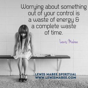 worry control
