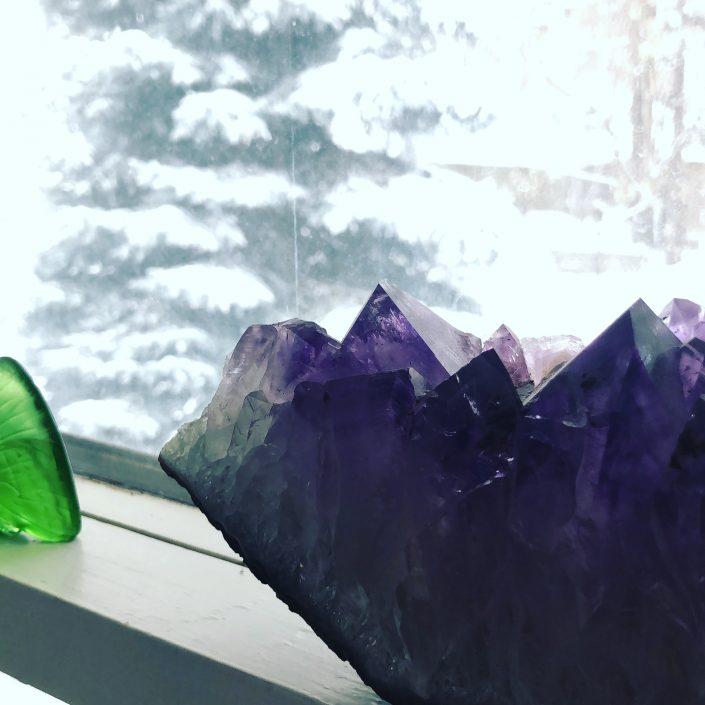 powerful amethyst crystal